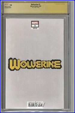 Wolverine #1 CGC 9.8 SS Greg Horn Virgin Edition Variant Cover 2020 Sig Ultimate