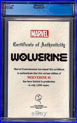 Wolverine #1 Cgc 9.8 Nm/mt C2e2 Christopher Yellow Cover Variant