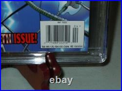 Wolverine #100 CGC 9.8 NEWSSTAND Edition 1996 Marvel Comics Variant Cover