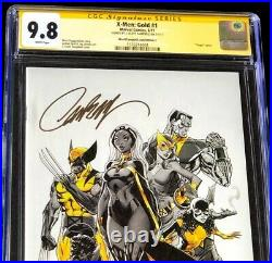 X-Men Gold #1 CGC SS 9.8 SIGNED J Scott Campbell Cover C VARIANT 2017