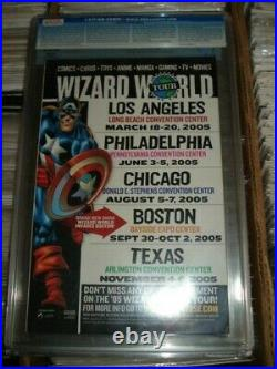 Young avengers 1 cgc 9.8 sketch cover wizard world variant 2005 sweet look
